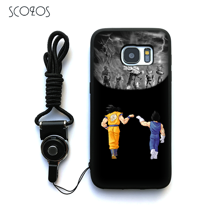 Faithful Scozos Dragon Ball Z Silicone Phone Case Cover For Samsung Galaxy S6 S7 S7 Edge S8 S8 Plus J3 J5 J7 A3 A5 A7 2016 Note 8 &qq64 With The Most Up-To-Date Equipment And Techniques Cellphones & Telecommunications
