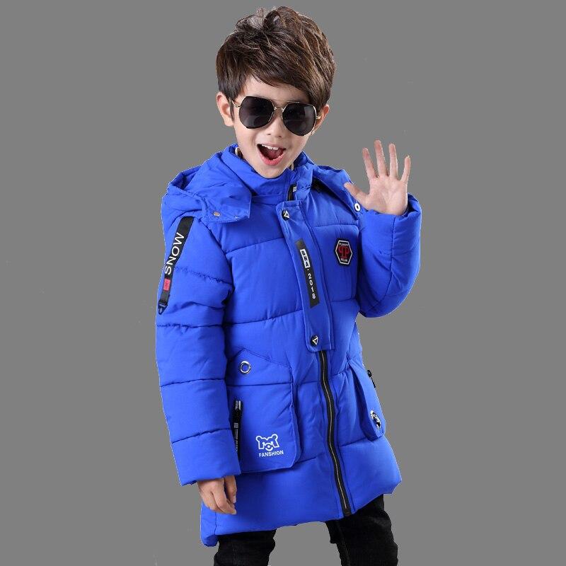 Kinderkleding Winterjas.Goede Kopen Kinderkleding Jongen Katoenen Jas 2018 Nieuwe Baby