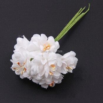 Margaritas de seda artificial hechas a mano, ramo de flores de tela, accesorios de manualidades diy y decoración para guirnalda de pelo