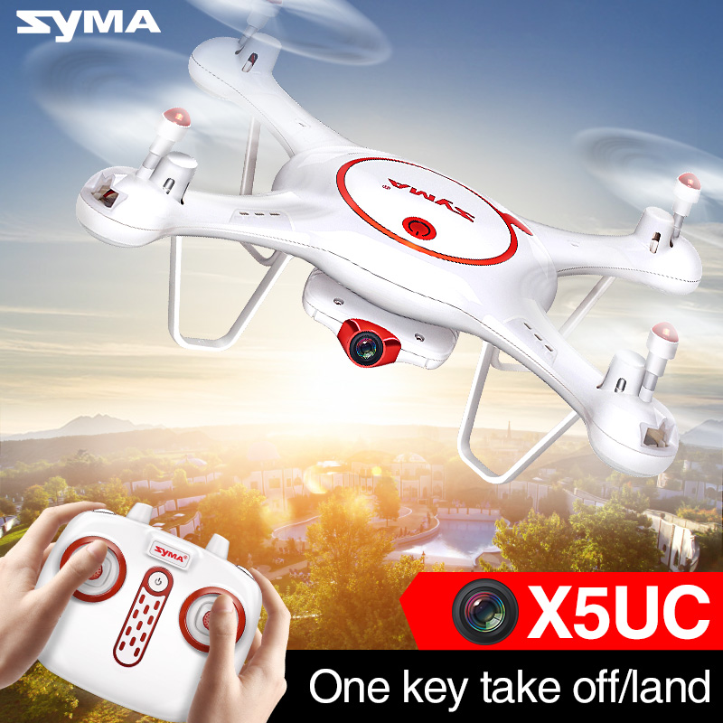 Professional Syma X5UC 4CH Quadrocopter RC Drone 2.4G Remote Control Drone with HD Camera RC Helicopter with Original Box mini drone rc helicopter quadrocopter headless model drons remote control toys for kids dron copter vs jjrc h36 rc drone hobbies