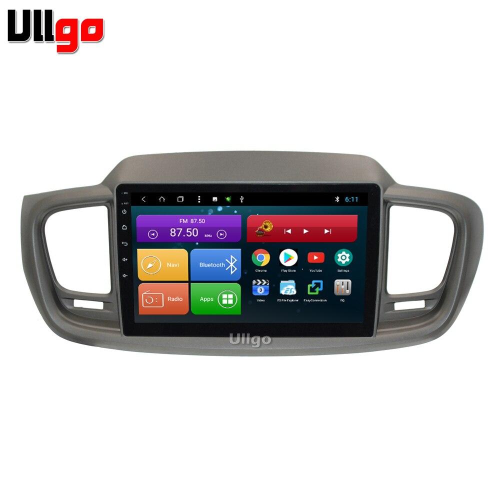 10.1 pouce Octa base Android Autoradio Voiture pour Kia Sorento 2015 2016 Autoradio Autoradio GPS avec BT Radio RDS Miroir-lien Wifi