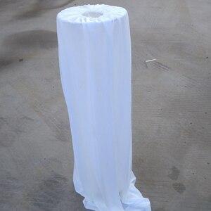 Image 3 - مادة الحرير الجليدي لتزيين حفلات الزفاف غطاء من الرصاص لملائم الحفلات المورد 5 قطع الكثير