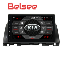 Belsee 10,1 дюймов сенсорный экран радио Android 8,0 Авто Carplay gps навигационная система Kia optima k5 2015 2016 8 Core 4 + 32 ГБ