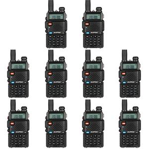 10 шт. Bao Feng UV-5R рация оптовая продажа Baofeng UV5R CB радио VHF UHF двухдиапазонное двухстороннее радио 5 Вт Любительское радио Испания Germnay