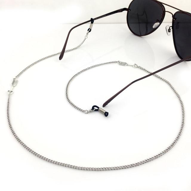 5b0b2ca434 GL129 10 Pçs/lote Frete Grátis bonito seta do vintage correntes de prata de  óculos