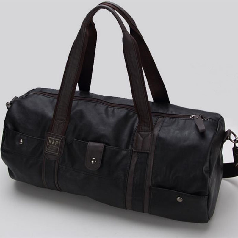 bolsa de viagem de couro Tipo de Ítem : Men Women Travel Hand Bags