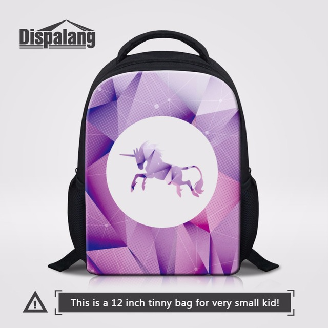 Dispalang Unicorn Kids Bagpack Animal Print Nursery School Bag Mini Baby Book Kindergarten Preschool Backpack