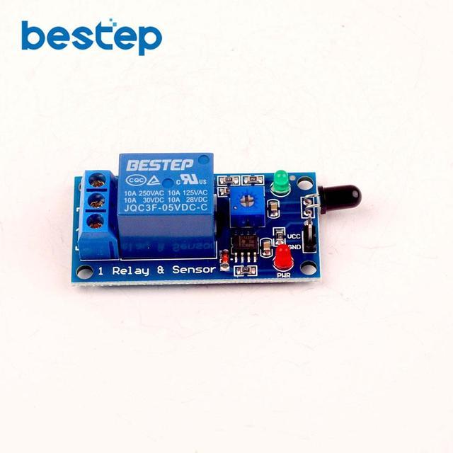 US $1 58 |5 V Cahaya Api Deteksi Api Modul Sensor Modul di Sensor dari  Komponen elektronik & Supplies AliExpress com | Alibaba Group