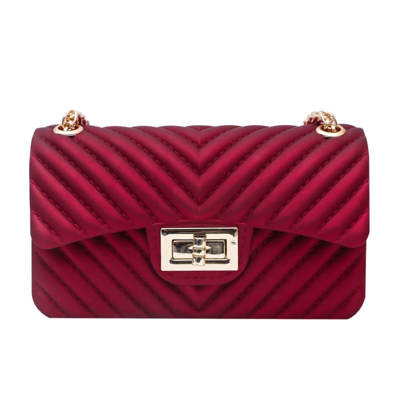 ФОТО Women 2017 Fashion PVC Jelly Bag Girls Love Candy Color Handbags Casual Clutch Messenger Bag