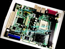 AIMB-641 motherboard 478 pin dual Gigabit Ethernet card 2 ATM LVDS motherboard