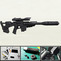 3D Paper Model gun Star Terran C10 Specter Sniper Rifle Lmitation 1:1 Kid's Diy Toy Eva Space Firearms