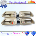 Inside Door Handle Tan Left and Right FL FR RL RR 69206-AA010 69205-AA010 For Toyota Camry 1997 1998 1999 2000 2001