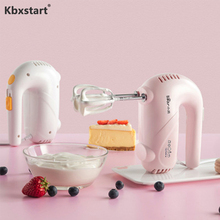 Kbxstart Многофункциональный ручной миксер для еды блендер Яичница для выпечки взбивание сливки Milkshake машина для домашней кухни 220 В