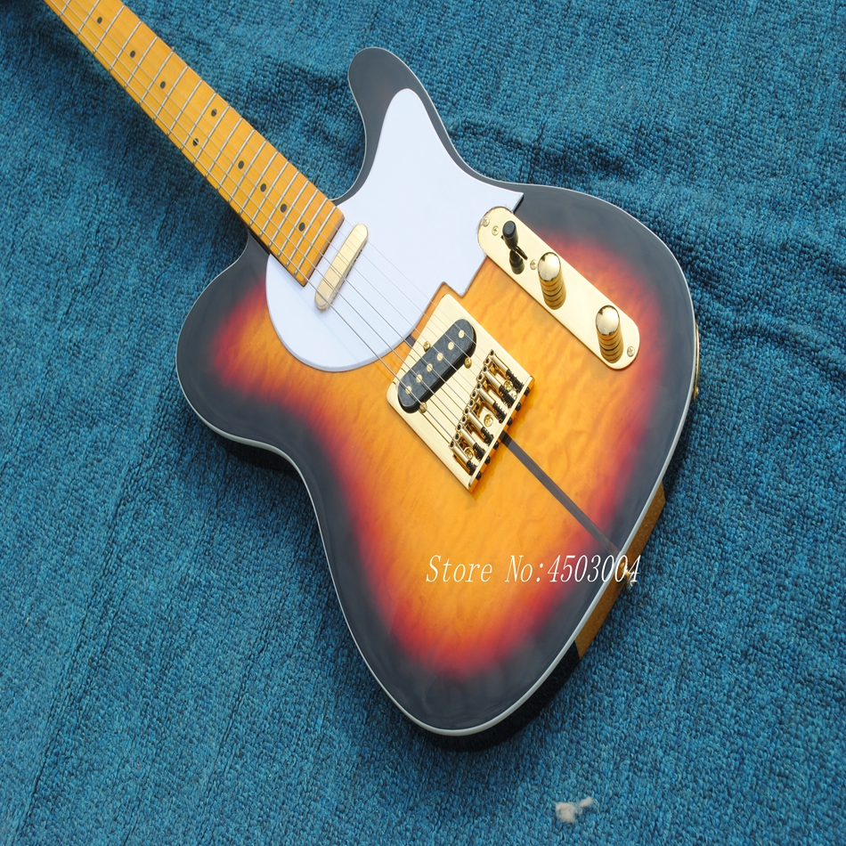 2017 New Arrival F Custom Shop TL Electric Guitar Merle Haggard Signature Tuff Dog guitar,EMS free shipping