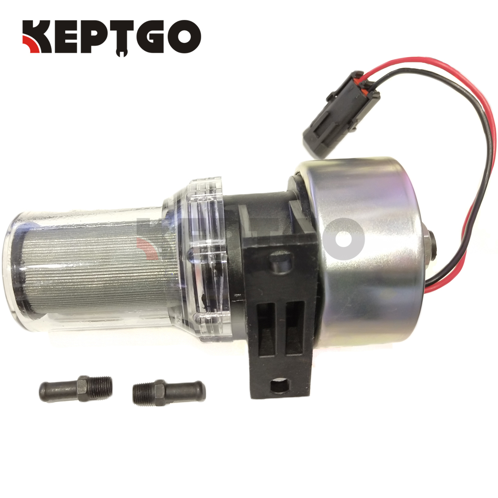 12V Transicold Filter Fuel Pump 41 7059 For Thermo King MD KD RD TS URD XDS
