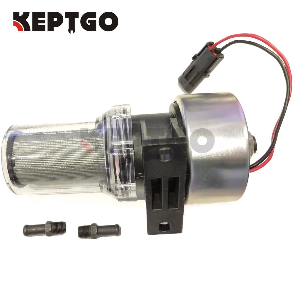 12V Transicold Filter Fuel Pump 41-7059 For Thermo King MD/KD/RD/TS/URD/XDS/TD/LND Carrier 30-01108-0312V Transicold Filter Fuel Pump 41-7059 For Thermo King MD/KD/RD/TS/URD/XDS/TD/LND Carrier 30-01108-03