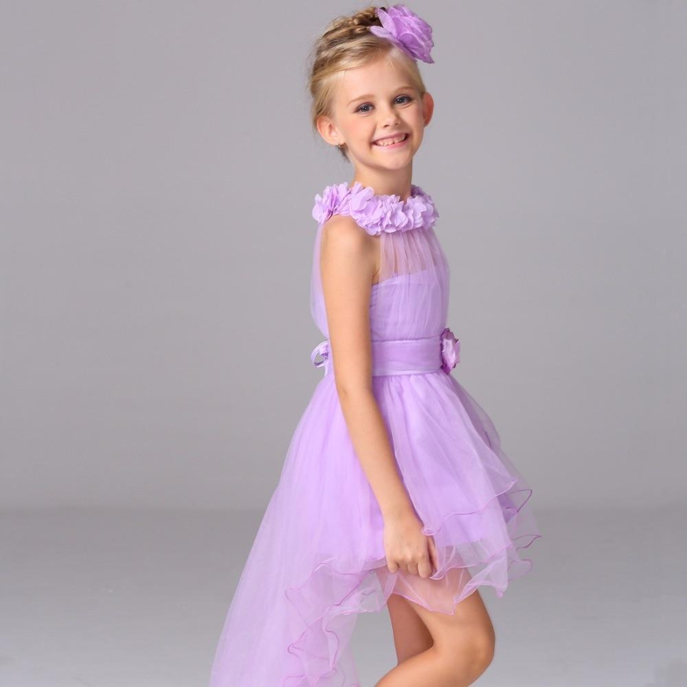 New Girls Party Dress 2016 Lvory Elegant Baby Girl Princess Tutu Dress For Christening Wedding Kids Dresses For Girls