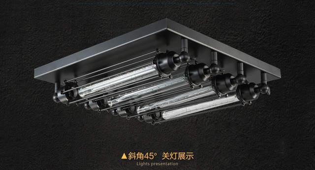 Plafoniere A Led : Online shop industrial ceiling light edison bulb retro