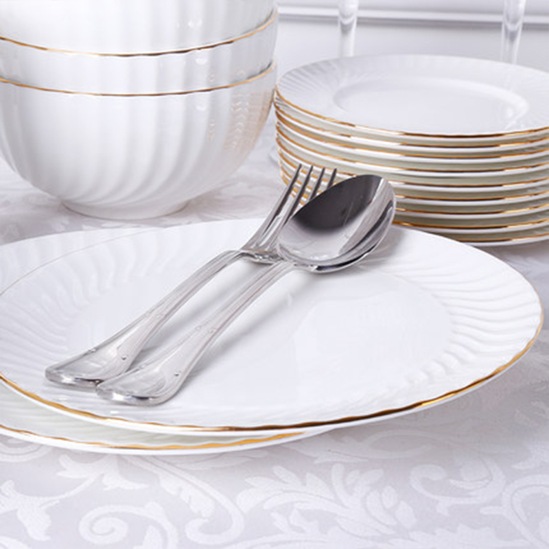 Wourmth Factory direct porcelain dinner set gifted royal china dinnerware set ceramic tableware set in Dinnerware Sets from Home Garden