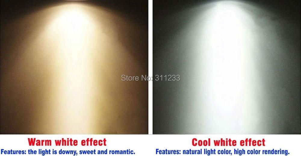 LED Light Bulb GU10 5W Dimmable High Lumen High CRI 80 Replace 50W Halogen Bulb Hotel Restaurant Living Room Bed Bath Room Light