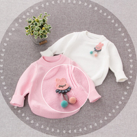 Baby coat winter girls coat kids clothes keep warm sweater Jacket for 1 2years infant coat