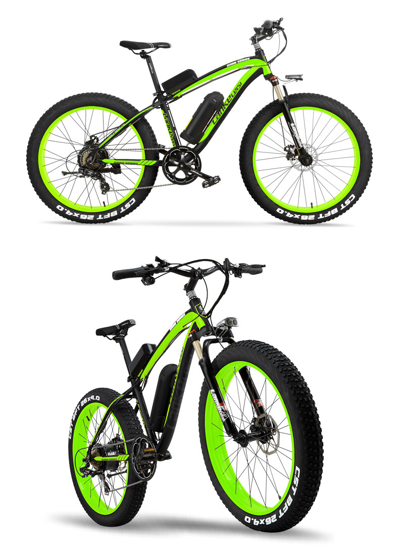 HTB1OWvVcN1YBuNjy1zcq6zNcXXav - 1000W Pedal Help Electrical Bicycle Males's E-bike 26'' Fats Snow Bike 48V 10Ah Lithium-Ion Battery, Hydraulic Disc Brake