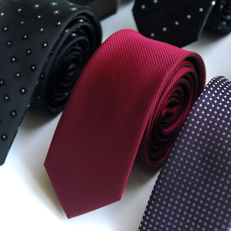 2018 Neck Tie Striped Men Women Adult Korean Fashion Narrow Tie Mens Wedding Casual Small Business Polyester Factory Direct