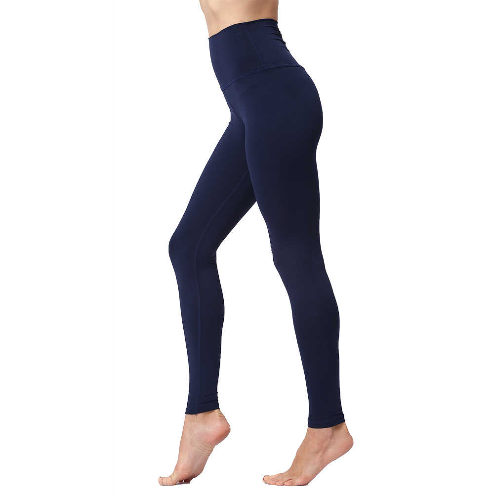 e975621f61fdb ... Yoga Pants Leggings for Fitness Push Up High Waist Tights Solid Polyester  Running Gym Training Workout ...