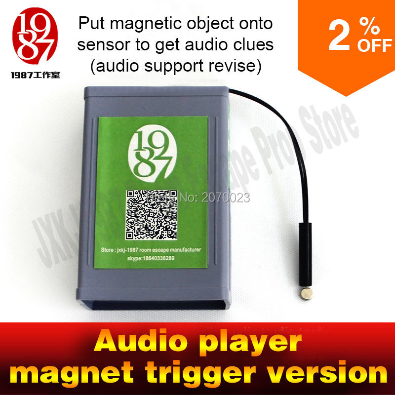 game props for escape the room one magnet prop put magic magnetic object on the sensor