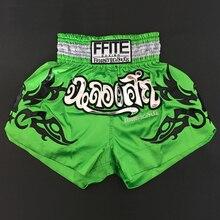 ММА Боксерские Шорты Мужские кикбоксинг, муай-тай штаны Санда фитнес боксео борьба Grappling trunks