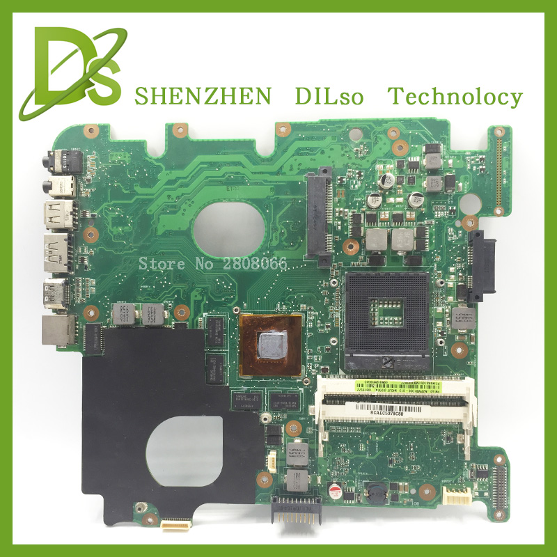 For ASUS N43J laptop motherboard n43j motherboard rev2.3 100% tested freeshipping for asus m50sr laptop motherboard m50vm rev 2 0 motherboards 100% tested free shipping