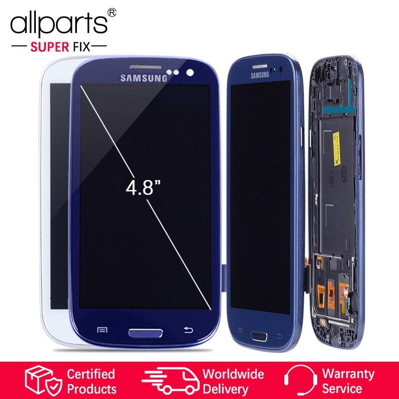 Tela i9300 LCD Samsung Galaxy S3 i9300i com Quadro de Substituição Para O SAMSUNG Galaxy S3 LCD i9301 i9308i i9301i #2