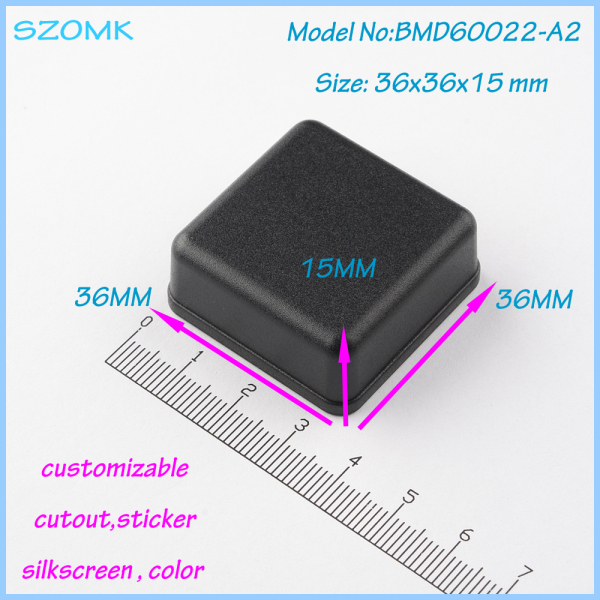 10 pcs/lot free shipping abs plastic enclosures electrical project ...