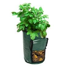 DIY Potato Grow Planter PE Cloth Planting Container Bag Vegetable Gardening Thicken Garden Pot 1pc