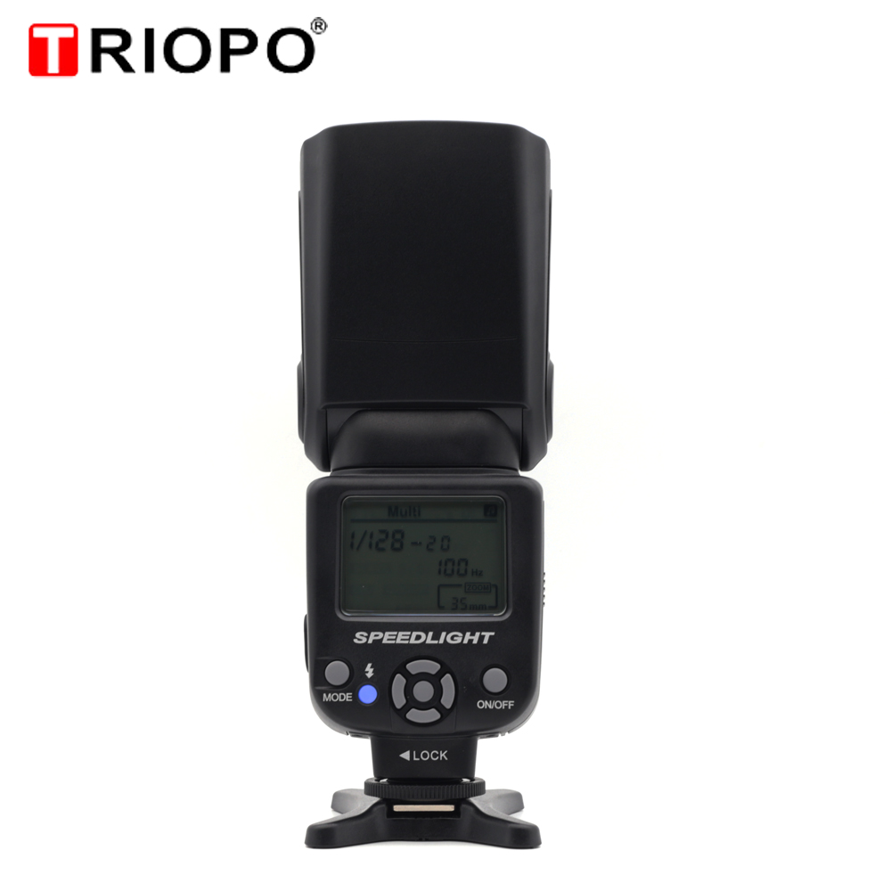 Triopo TR 950 Universal Flash Light Speedlite For Fujifilm Olympus Nikon Canon 650D 550D 450D 1100D