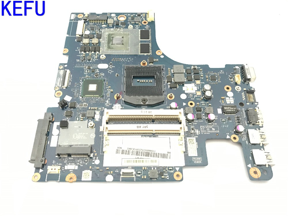KEFU SUPER HOT IN RUSSIA Free Shipping AILZA NM-A181 REV : 1.0 Laptop Motherboard for Lenovo Z510 Notebook pc N14P-GV2-B-A1 1 piece brand new n14p gv2 b a1 bga chip with ball