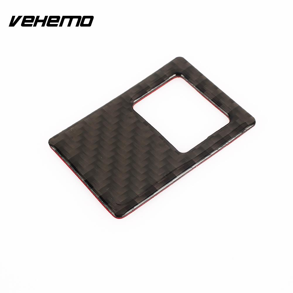 Vehemo Carbon Fiber Interior <font><b>Stickers</b></font> <font><b>VW</b></font> <font><b>Golf</b></font> <font><b>7</b></font> Car <font><b>Stickers</b></font> Fashion Auto <font><b>Stickers</b></font> DIY Vehicle image
