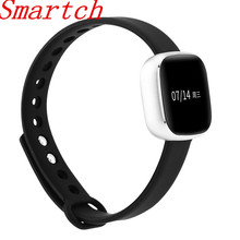 Smartch V8 smart bluetooth браслет Смарт часы Фитнес трекер реального времени сердечного ритма Мониторы Приборы для измерения артериального давления точные данные
