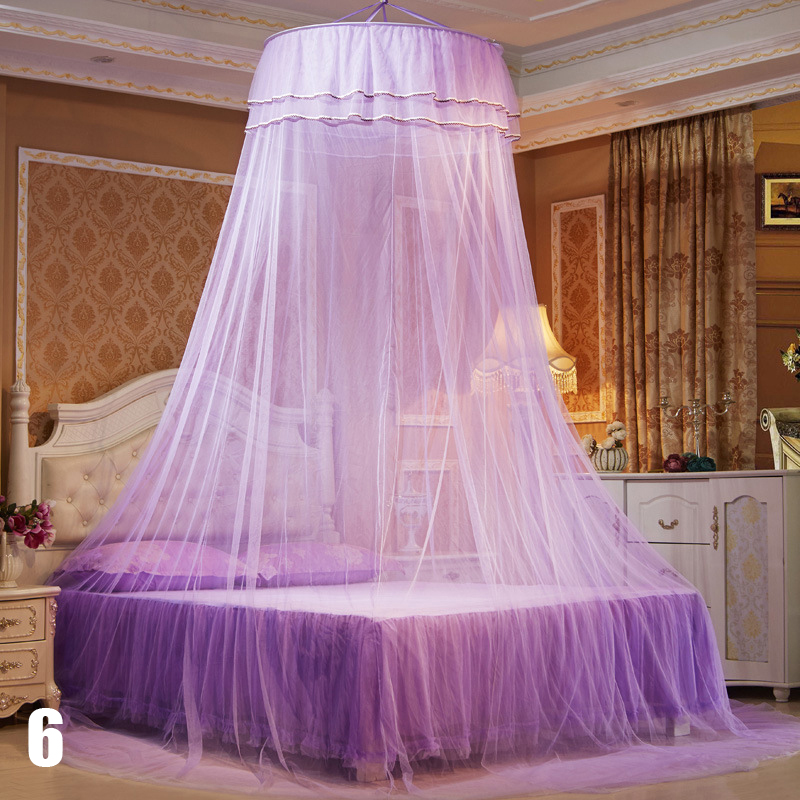 New Romantic Palace Mosquito Nets For Adults Bed Curtain Canopy Circular Hung Mosquiteros para cama Net #240781-in Mosquito Net from Home u0026 Garden on ... & New Romantic Palace Mosquito Nets For Adults Bed Curtain Canopy ...