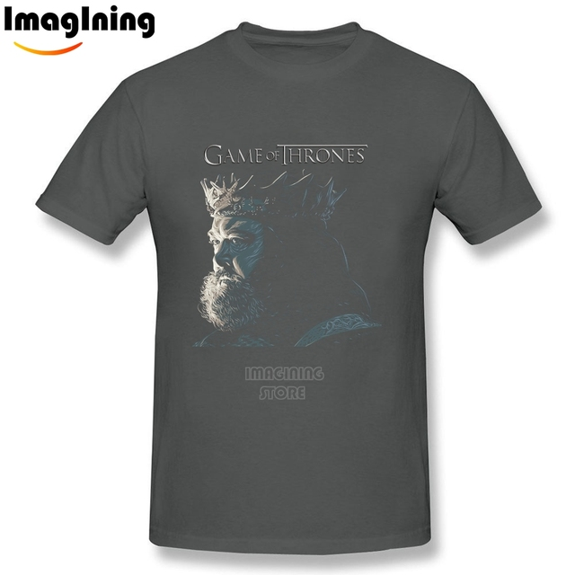 Game Of Thrones Robert Baratheon Casual O-neck Fashion Men's T-shirt
