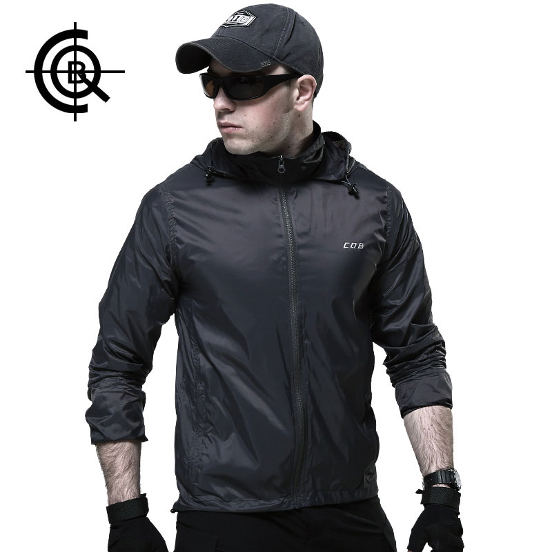 CQB Hiking Jackets Skin Thin Breathable Windbreaker Quickly dry ...