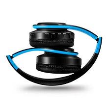 Lusso Bluetooth Cuffia Della Fascia Auricolare Wireless con Microfono  Musica Suono Stereo Gioco Cuffie per Tablet b229dbf23512
