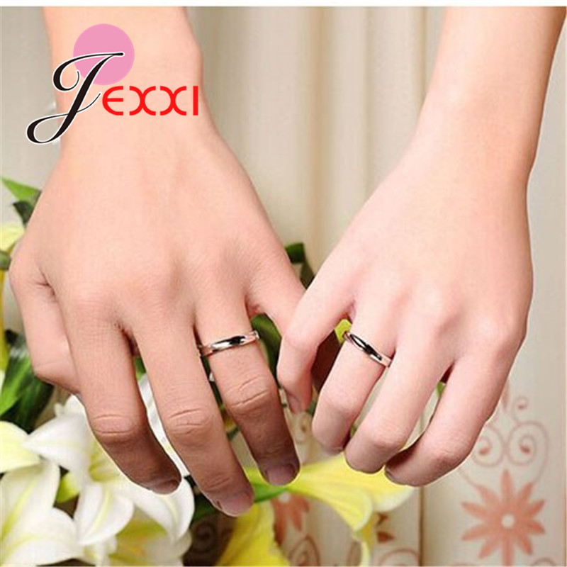 925 Sterling Silver Couple Rings Fashion Jewelry Classical Rings Adjustable Sizes  Wholesale Separate Men and Women !!! 3