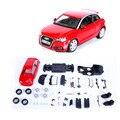 Германия классический DIY собрал автомобиль игрушки 1:24 красный цвет ужин Modle игрушка для детей подарок на день рождения