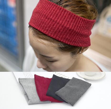 2016 Wide Headband  Winter Knit Headband Stretch Headband Striped Headband Women's Head Wrap Ear Warmer