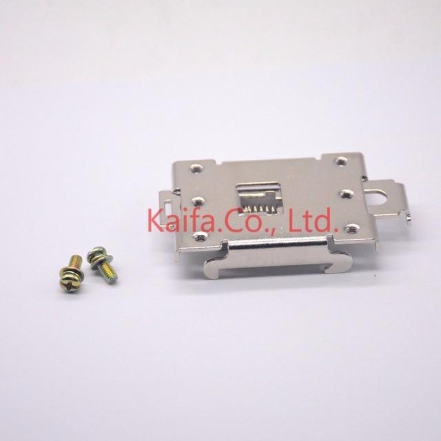 1 stücke einphasig SSR 35mm din-schiene feste solid state relais clip clamp + 2 stücke Schraube