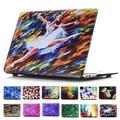 Красочные картины маслом стиль матовая чехол для Apple macbook Pro Retina 11 12 13 15 ноутбук сумка для Mac книга 13.3 дюймов 15.4 дюймов