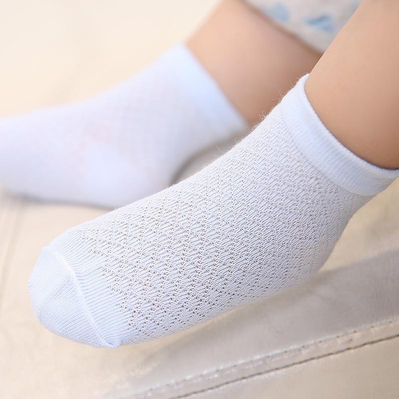 6Pairs Newborn Baby Girl Cotton Socks Kids Soft Breathable Ankle Socks US