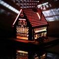 Modelo tridimensional de tarjetas de felicitación artísticas, luminiscentes de papel tallado, talla de arte de papel hecho a mano de la lámpara de papel