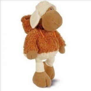 veleprodaja igračka-poklon NICI s kapuljačom ovce 35cm Vanjska trgovina autentičan izvorni pliš igračka djeca omiljeni dar besplatne dostave